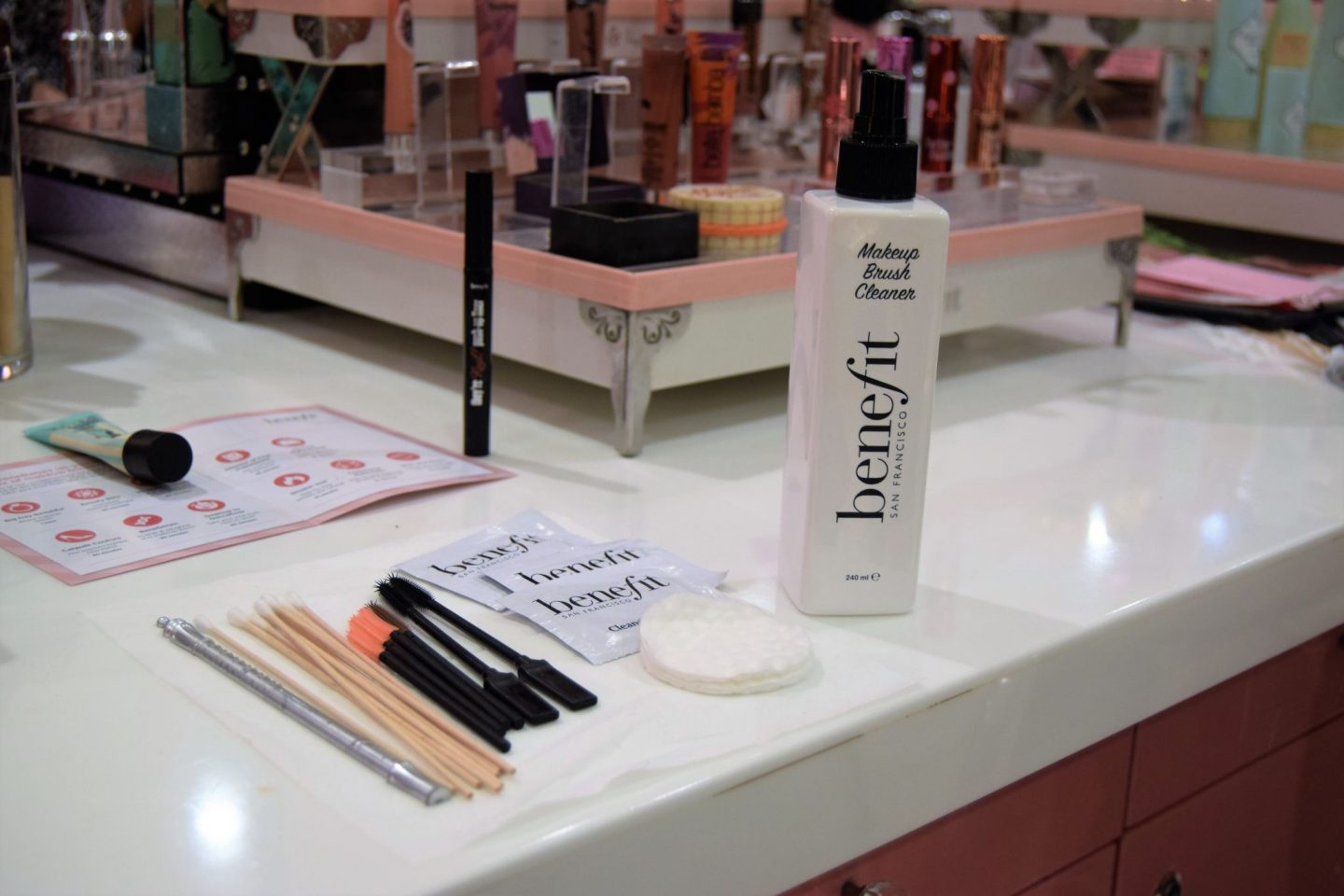 ELLEfluence: Benefit Eldon Square Event