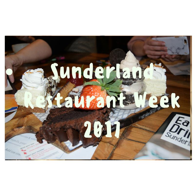 Dont Miss it!!!!! Sunderland Restaurant Week 2017
